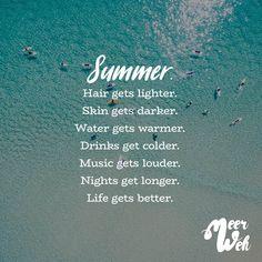 Visual Statements®️ Summer Sprüche / Zitate / Quotes / Meerweh / reisen / Fernweh / Wanderlust / Abenteuer / Strand / fliegen / Roadtrip