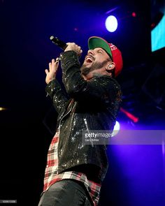 A.J. McLean of the Backstreet Boys performs in concert during the 106.1 KISS FM's Jingle Ball 2016 Presented by Capital One at American Airlines Center on November 29, 2016 in Dallas, Texas.
