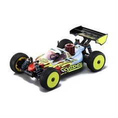 Kyosho Inferno MP9 TKI3 Spec A 1/8th Off-Road Buggy KYO31789B Price: US $510 Website: www.zetdar.com Minimum Order : 1 Unit  Scale: 1/8 Length: 490mm (19.2in) Width: 307mm (12.0in) Height: 180mm (7.0in) Wheelbase: 325mm (12.7in) Ground Clearance: 28mm (0.8in) Gear Ratio: 11.7:1 Weight: 3,300g