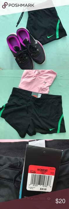 JUST ADDED Nike Training Shorts No built in underwear, comes with inside pocket. Dri-fit technology Nike Shorts