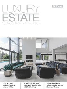 LUXURY ESTATE - VILLA R on TOP! COVERPAGE! Innovation, Luxury Estate, Planer, Designer, Conference Room, Villa, Table, House, Furniture