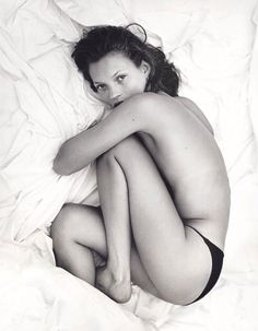Kate Moss by Mario Sorrenti, 1993 Calvin Klein Obsessed 2017