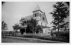 Old House with People by Cornell University Library, via Flickr New York State