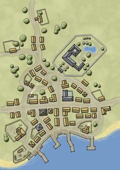 map fantasy maker medieval rpg castle