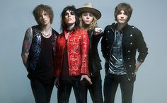 """British rock band the Struts were tapped to open for Mötley Crüe during their final performances last year, and this year they'll release their debut album Everybody Wants, out March 4. The collection's third track """"Kiss This"""" originally appeared on the band's 2014 EP, but now EW is excited to debut the song's video, which features behind the scenes takes from the band's North American tour."""
