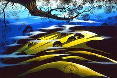 Morning Fields - Eyvind Earle