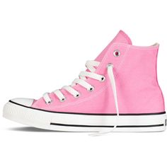 Converse Chuck Taylor All Star Classic Colors – pink Sneakers (450 NOK) ❤ liked on Polyvore