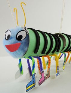 When you have 100 legs, you're going to need a LOT of shoes. Make this adorable centipede marionette!