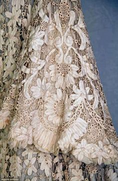 Edwardian Battenburg Lace Coat