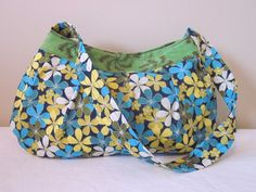 Buttercup Bag Purse Clutch Small Blue / by SarahsFabCreations, $18.00
