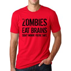 Men's Zombies Eat Brains T-shirt
