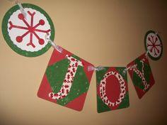 Joy sign Joy banner Joy glitter banner Christmas banner Christmas decorations Christmas garland