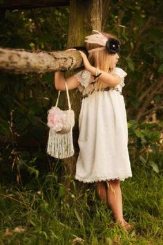 Vintage Style Girls Accessory Toddler