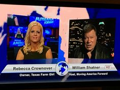 Best selling author Rebecca Crownover on Moving America Forward with William Shatner