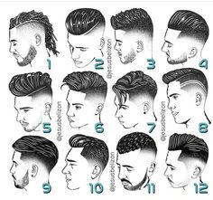 Saw this on Go check em Out Check Out for 57 Ways to Build a Strong Barber Clientele! Mens Hairstyles With Beard, Hair And Beard Styles, Hairstyles Haircuts, Curly Hair Styles, Latest Hairstyles, Nba Haircuts, Haircuts For Men, Barber Haircuts, Gents Hair Style