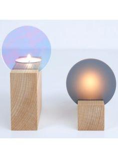 Theelichtjes+blok #candlelight #wood #modern #interior #decoration #inspiration #home #styling #myhomeshopping