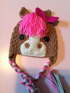 cute idea to make with pink mane for grace.