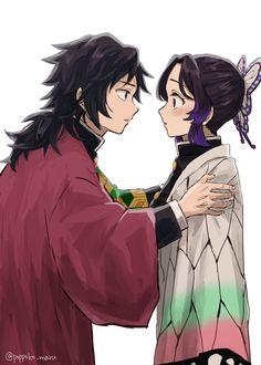 Imágenes random de Kimetsu no Yaiba 2 Anime Demon, Manga Anime, Anime Art, Demon Slayer, Slayer Anime, Hyouka, Cute Comics, Animes Wallpapers, Cute Anime Couples