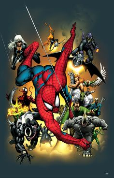 Marvel Universe Handbook Spider Man is part of the Marvel Mighty Minis collection of affordable Marvel art pieces, all official-created by Marvel artists!