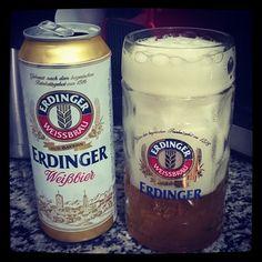 Essa é por conta do amigo @wagdb!!! #cerveja #beer #feriado #erdinger