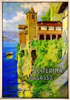 S-Caterina-del-Italy-Vintage-European-Travel-Advertisement-Poster-Picture-Print