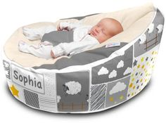 Providing your baby with the comfort and support they need whilst the rest, the Gaga Cuddlesoft Pre-filled Baby Bean bag - Counting Sheep helps. 3rd Baby, Baby Boy, Baby Stuffed Animals, Counting Sheep, Baby Necessities, Everything Baby, Waterproof Fabric, Pet Toys, Bassinet