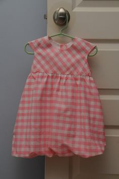 Bubble Dress with bodice cut on bias by jessicakcooper