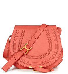 Saddle Bag 'Marcie Small Crossbody' Koralle von Chloé bei UNGER-FASHION.com