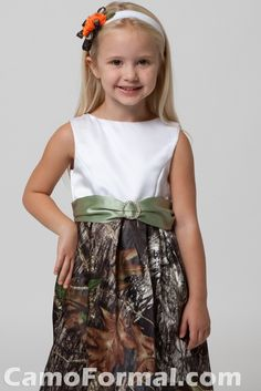 Camo Wedding Dresses | Mossy Oak Kids Camo Collection Camouflage Prom Wedding Homecoming ...