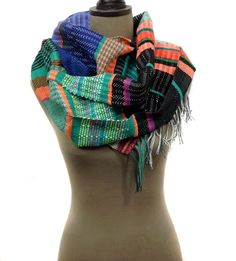 New to pidgepidge on Etsy: Bess Fashion Beauty, Women's Fashion, Cozy Scarf, Unisex Gifts, Luxury Gifts, Envy, Gifts For Mom, Hand Weaving, Vibrant