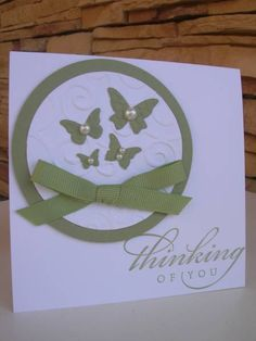CAS Thinking of You AYC I by calmag - Cards and Paper Crafts at Splitcoaststampers