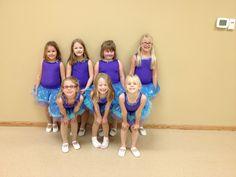 Wee Petites (K-1) group 2013-2014 Hankinson