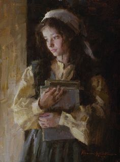 daydreaming by Morgan Weistling Aesthetic Painting, Aesthetic Art, Rennaissance Art, Art Ancien, Images Esthétiques, Renaissance Paintings, Old Paintings, Victorian Art, Classical Art
