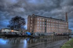 The Hovis mill in Macclesfield.  Eerie, but I like it!