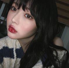 """좋아요 72개, 댓글 0개 - Instagram의 @guujaehee님: """"❤️❤️ #셀카 #selca #selcagram #최희주  #beautiful  #사랑해 #love #korea #girl #koreangirl #한국  #ulzangstyle…"""" Ulzzang Girl, Septum Ring, Cosplay, Selfie, Makeup, Cute, Beauty, Jewelry, Choi Hee"""