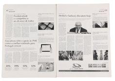 Jornal Mais Oeste || Re-Design by Bruna Silva, via Behance