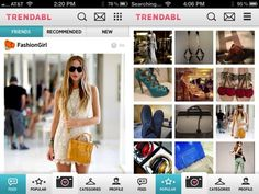 Trendabl : well you can call it instagram for fashion to say the least. Upload your outfits, tag them with brands etc and a great search as well. It is addictive and a must download.