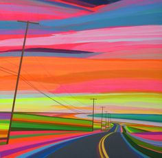 Les créations de l'artiste américain Grant Haffner, qui cherche à recréer dans ses peintures la plénitude, l'excitation et les moments de contemplation qu'
