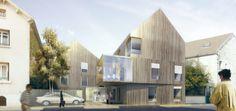 Il s'agit d'installer un vis-à-vis et des usages entre un édifice et son paysage. La mise au point de la forme finale est dictée par l'expression…