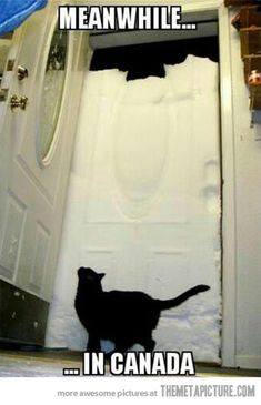 Winters in Canada…