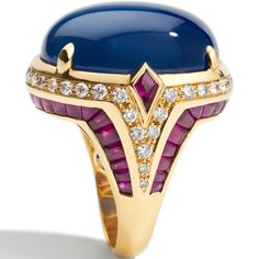 Rosamaria G Frangini | High Deep Blue Jewellery | Bulgari