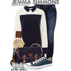 Inspired by Elizabeth Henstridge as Jemma Simmons on Marvel's Agents of S.H.I.E.L.D.