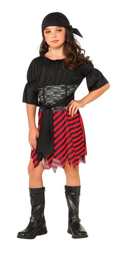 More Than 1 Available Raggy Pirate Costume Age 5-6 Brand New