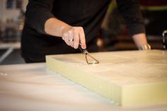 Encaustic ART by Bianca Kiso Encaustic Art, Butcher Block Cutting Board, Kunst, Painting Art