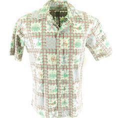 c5d1dfe3 Vintage 1989 Mele Kalikimaka Hawaiian Shirt Xmas Reyn Spooner Gold Mermaid  80s L