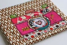 Camera zip pouch by One Shabby Chick