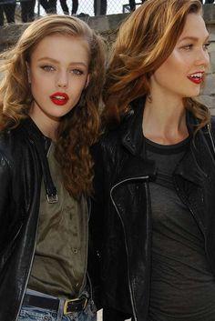 Frida Gustavsson & Karlie Kloss
