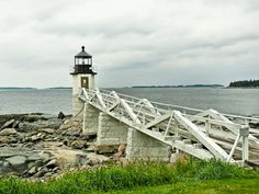 Marshall Point Light in Port Clyde, ME. Maine New England, Maine Lighthouses, Rocky Point, Point Light, Fishing Villages, Sea Birds, Close Image, New Hampshire, Places Ive Been