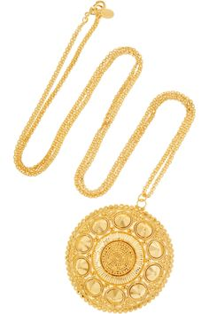 Gold-tone necklace by Noir Jewelry