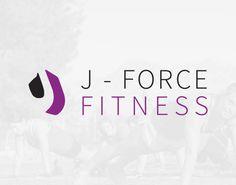 J Force Fitness Logo Design